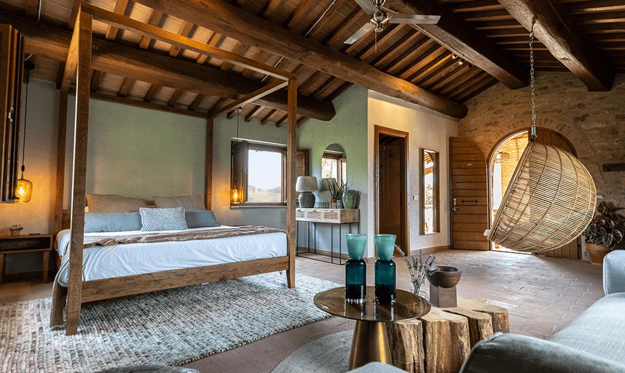 16. Sante – Familie suite 5 personen – 70m2- Met groot privé terras